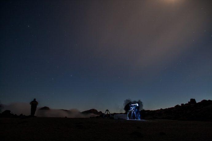 Observar estrellas en Tenerife, Teide
