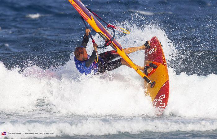 El mejor windsurf del mundo en El Médano, PWA Tenerife