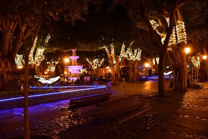 Plaza del Adelantado Navidad
