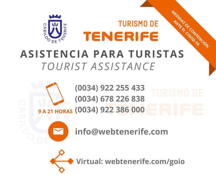 Servicio Atención Turística Coronavirus