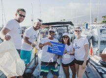 Empresas y Turismo de Tenerife comprometidos con la limpieza del mar